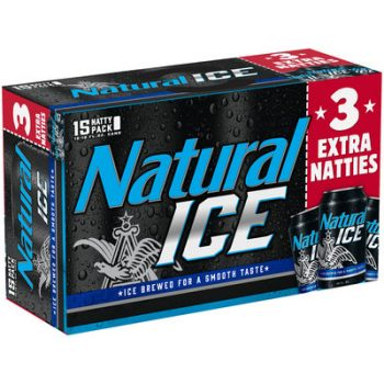 Natural Ice 15-Pack